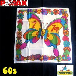 [miracle Super Rare] Peter Max X 7up X Seagram [promotional / Not For Sale]