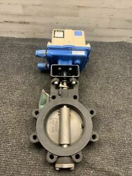 Valvcon Adcw600l2hs2n115ac 115v Actuator Milwaukee Hp1lcs4211 6andrdquo Butterfly Valve