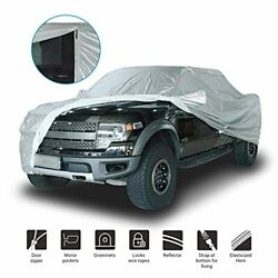 Shieldo Deluxe Truck Cover With Door Zipper Durable Straps And Buckles Fit Fo...