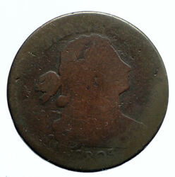 1803 P United States Us Vintage Old Antique Large Draped Bust Cent Coin I95798