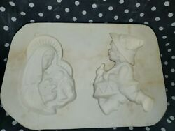 Unknown Molds C-221 Mary And Baby Jesus Ornament Ceramic Slip Casting Mold