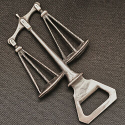 Italian Bottle Opener - Beer, Bar, Scales Of Justice, Courts, Judge, Law