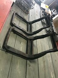 1958 - 1960 Corvette Seats, Pair With Frames And Adjusters, Used Original, 1959