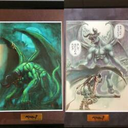Large Berserk Exhibition Not For Sale Limited Edition Crowdfunding Rewards 2set