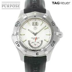 Battery Replacement Already Tag Heuer Aquaracer Waf1011 Mens Wristwatch Big Date