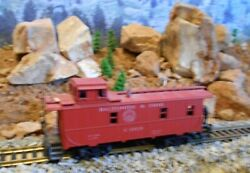 Ho Scale Tyco Baltimore And Ohio Caboose, Model Railroad Train, Old Collectible