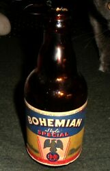 Cool Vintage Bohemian Beer Steinie Bottle Union Brewery New Castle Penna