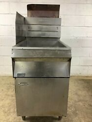 65lb Fryer Pitco Frialator 18s Natural Gas Tested