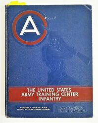 Late 1950 Vintage Us Army Training Center Infantry Fort Jackson Sc Yearbook