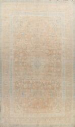 Vintage Floral Ardakan Hand-knotted Area Rug Classic Oriental Large Carpet 10x16