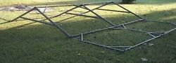 Military Surplus 16x16 Temper Tent Frame Set--frames Only--no Canvas Army Us