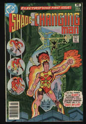 Shade The Changing Man 1 Nm- 9.2 Ow Pgs 1977 1st Steve Ditko Newsstand