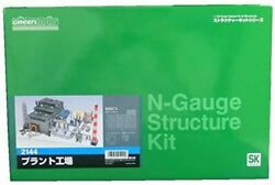 Greenmax 2144 Plant Factory N Scale From Japan