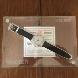 Difficult To Obtain Irony Chrono Swatch Limited 1 500 Pieces