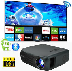 8500lms Android 5g Wifi Projector Native 1080p Blue-tooth 4k Video Hdmi Led Lcd