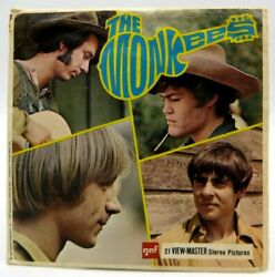 View Master B493 The Monkees 1967 Tv Show Gaf Version A 3 Reel Set