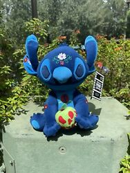 Nwt Disney Parks Stitch Crashes Disney Snow White Plush Limited Release In Hand