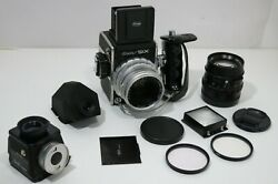 Kowa Six 85mm And 150mm Lens Exposure Finder + Waist Level + Finder And Hand Grip