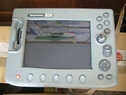Raymarine C80 Chartplotter Display With Good Lcd - For Parts Or Repair- E02020
