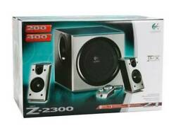 Logitech Z-2300 Computer Speakers In Brand New Sealed Box Very Rare