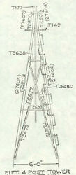 21ft Windmill Tower For 10ft Aermotor Style Windmill