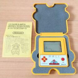 Instructions Available Game Watch Super Mario F1 Race Prizes Not For Sale