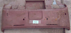 Used Oem And03957 - And03962 Triumph Tr3a - Tr3b Scuttle Panel K303