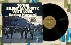 Harlan Howard Lp To The Silent Majority, With Love 1971 Vg++/vg++