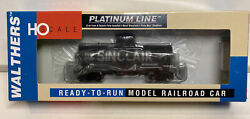 Walthers Platinum Ho Scale Sinclair 10000 Gallon Insulated Tank Car 26168