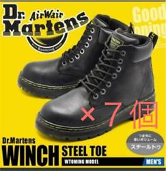 Dr.martens Winch Steel Toe Boots R16257001 Set Of