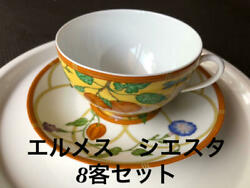 Hermes Siesta Cup Saucer Guests Free Shipping No.7947