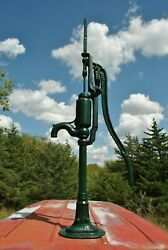 Vintage F. E. Myers Bros. Co Ashland Oh Cast Iron Windmill Hand Water Well Pump