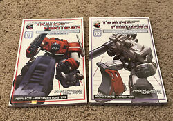 Transformers More Than Meets The Eye G1 Guidebook Mtmte Dreamwave Tpb Idw Oop