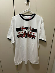 Cm Punk Aew Ringer Style T-shirt Best In The World All Out Size Xxl