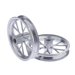 2x Front And Rear Wheels Rims Hubs 12 1/2x2.75 For 49cc Mini Ricing Dirt Bike
