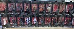 Star Wars The Black Series 6 Inch Action Figures Red Line 91-112 New Sealed