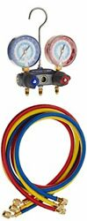 Yellow Jacket 49887 Titan 2-valve Test And Charging Manifold Degrees F Psi S...