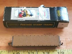 Vintage Nos Aurora Postage Stamp Trains 4881-220 Flat Car A.t. And S.f. 90806