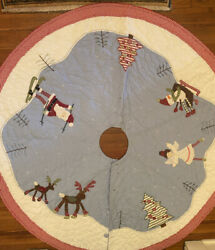 Pottery Barn Christmas Tree Skirt From The Late 1990and039s