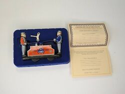 Lionel Trains Official Licensed Railroad Hand Car Tin Schylling 1900 - 2000 Test