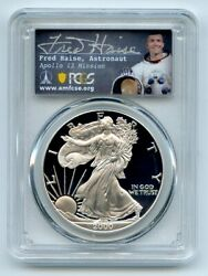 2000 P 1 Proof American Silver Eagle Pcgs Pr70dcam Fred Haise