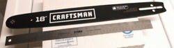 18 Chain Saw Bar Craftsman / Oregon 180pxbk095 Replacement Chainsaw New