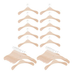 Bjd Dolls Wooden Clothes Hanger Dress Hangers For Sd17 Uncle Doll 30 Piece