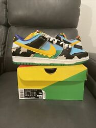 Size 11 - Nike Sb Dunk Low Ben And Jerryand039s Chunky Dunky Black/gold/lagoon...