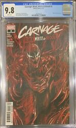 Carnage Black White and Blood #2 1st Carnage Shark CGC SS 9.8 Signed Donny Cates