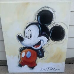 Eric Robison Painting Print The 100 Mickeys Series Original Mickey Mouse 98