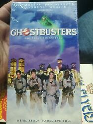 Brand New Factory Sealed Ghostbusters Vhs Tape