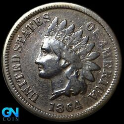 1864 L Indian Head Cent Penny -- Make Us An Offer K8151
