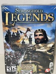 Stronghold Legends Special Edition Eb Gamestop Exclusive Pc Ntsc New Sealed