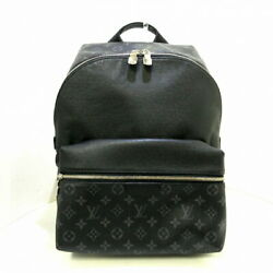Louis Vuitton Discovery Backpack Noir Taiga Razor Types Of Leather No.7815